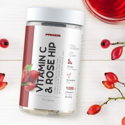 Prozis Vitamin C 500mg + Rosehip | 180 tabs
