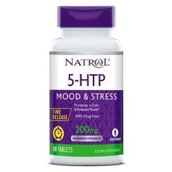 Natrol 5-HTP Time Release 200mg | 30 tabs