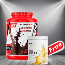 1+1 FREE - Blade Protein Concentrate + KFD X-BCAA