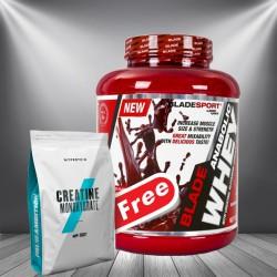1+1 FREE - Myprotein Creatine + Blade Anabolic Whey
