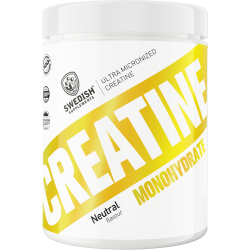 SWEDISH Supplements Creatine Monohydrate Extra Micronized