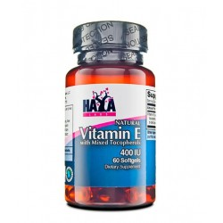 Haya Labs Vitamin E Mixed 400 IU | 60 sgels