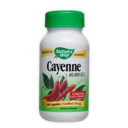 Nature's Way Cayenne 40,000 H.U. | 100 caps