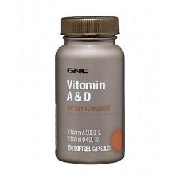 GNC Vitamin A & D | 100 caps