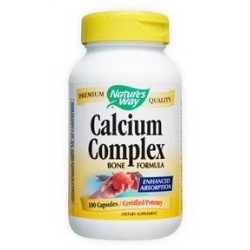 Nature's Way Calcium Complex Bone Formula | 100 caps